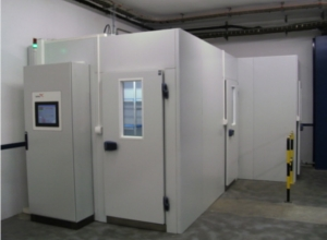 Modular Climatic Chamber of Ineltec for pharmaceutical stability tests ICH and FDA